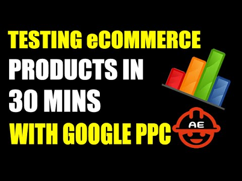 Testing eCommerce Products in 30 Minutes with Google Adwords