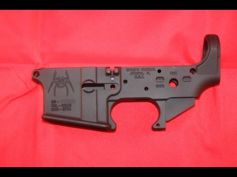 How To Strip And Disassemble An Ar 15 Lower Receiver Youtube
