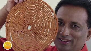 Big Chakli – Instant Chakali Recipe - Rice Flour Chakali – Murukku Recipe