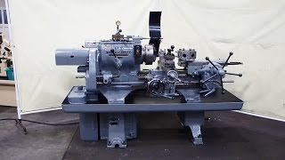 WARNER & SWASEY No. 3 Ram Type Turret Lathe Model 1200