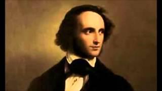 Ф Мендельсон Концерт для скрипки с оркстром ми минор 1 я часть Исполняет Яша Хейфец