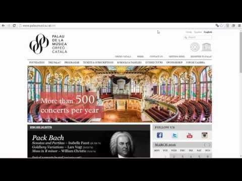 5 6 4  День 6  Архитектура для жизни  Дворец каталонской музыки Испании