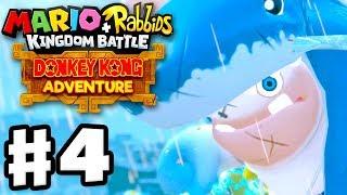 Mario + Rabbids Kingdom Battle: Donkey Kong Adventure DLC - Gameplay Walkthrough Part 4