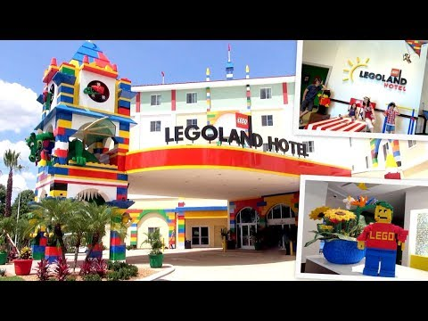 LEGOLAND HOTEL FLORIDA TOUR || Fun LEGO Themed ROOMS