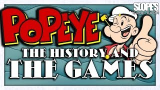 Popeye Video Games - SGR