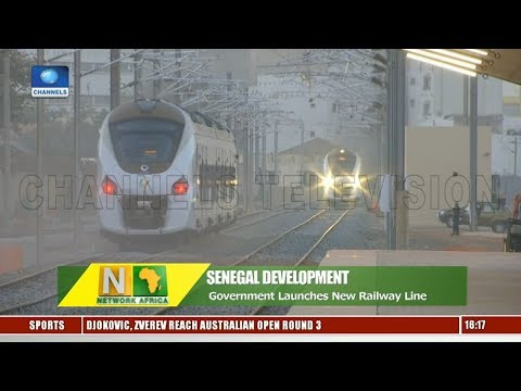 Senegal Launches New Railway Line |Network Africa|