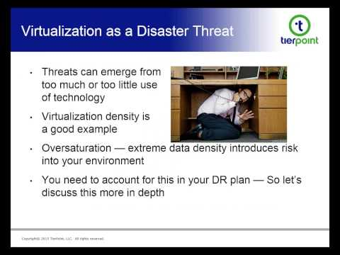 ACP Webinar - Blast & Flood Zones, Terrorism & DDoS Attacks: New Elements of a Comprehensive DR Plan
