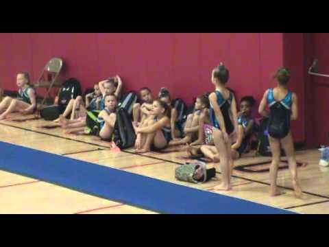 Carli Jerpseth Rockstar Gymnastics Meet 2015