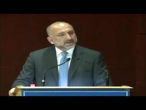Keynote Address H.E. Mhd. Hanif Atmar, National Security Advisor, Afghanistan
