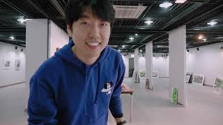 [Vlog] 미술작품 전시 디자이너입니다│GH5