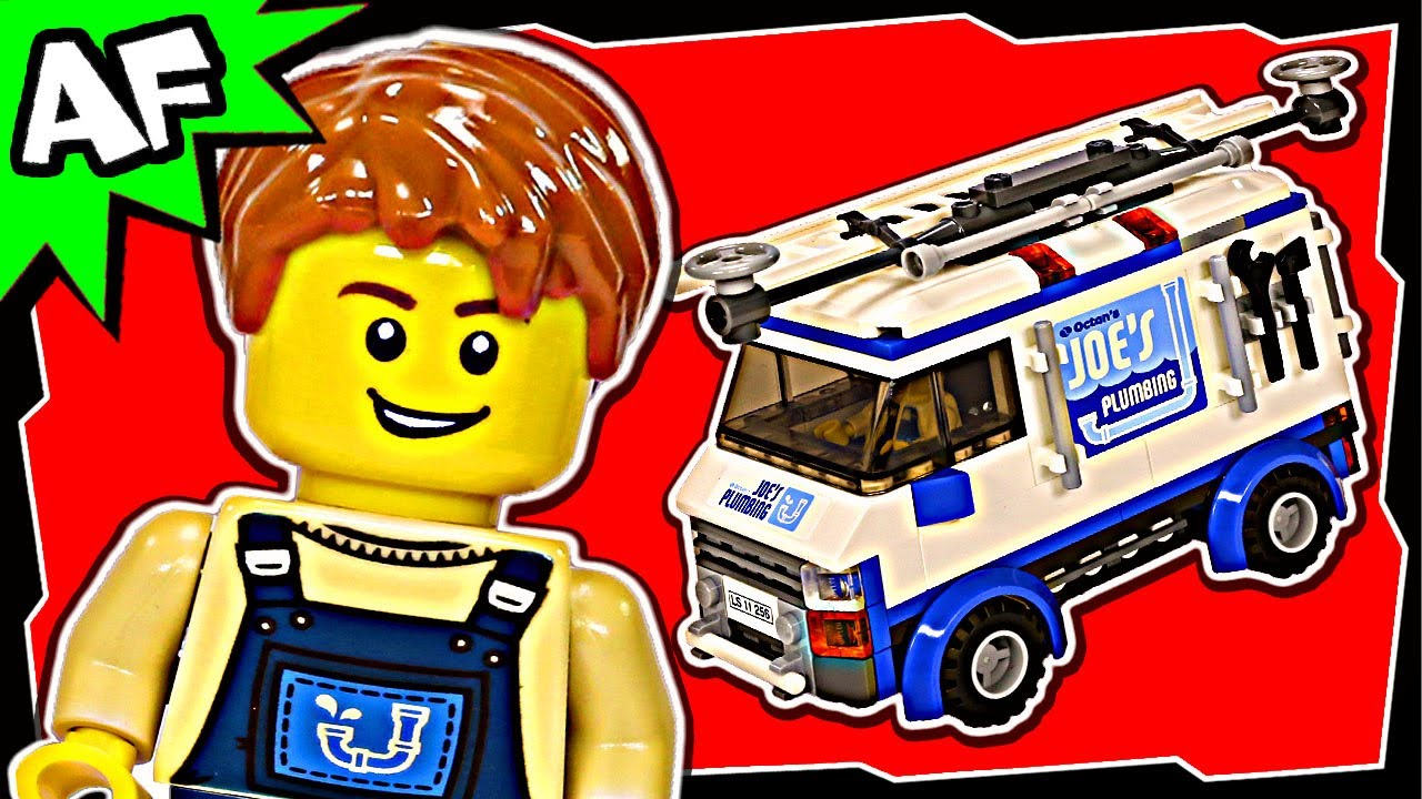 Lego Movie Flying Flusher Truck 2 70811 Stop Motion Build Review Youtube