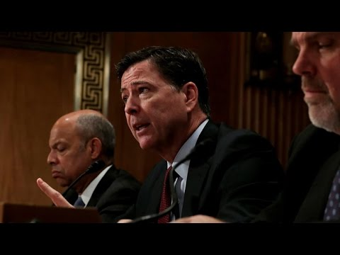 Comey briefs top lawmakers about Trump wiretap claims