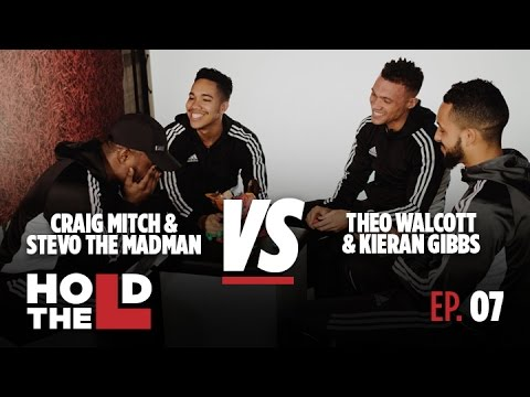 Theo Walcott and Kieran Gibbs Vs Stevo The Madman and Craig Mitch - Hold The L