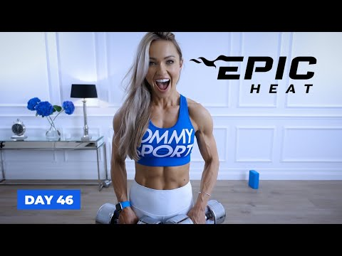 UNSTOPPABLE Upper Body Workout - Arms, Shoulders & Back | EPIC Heat - Day 46