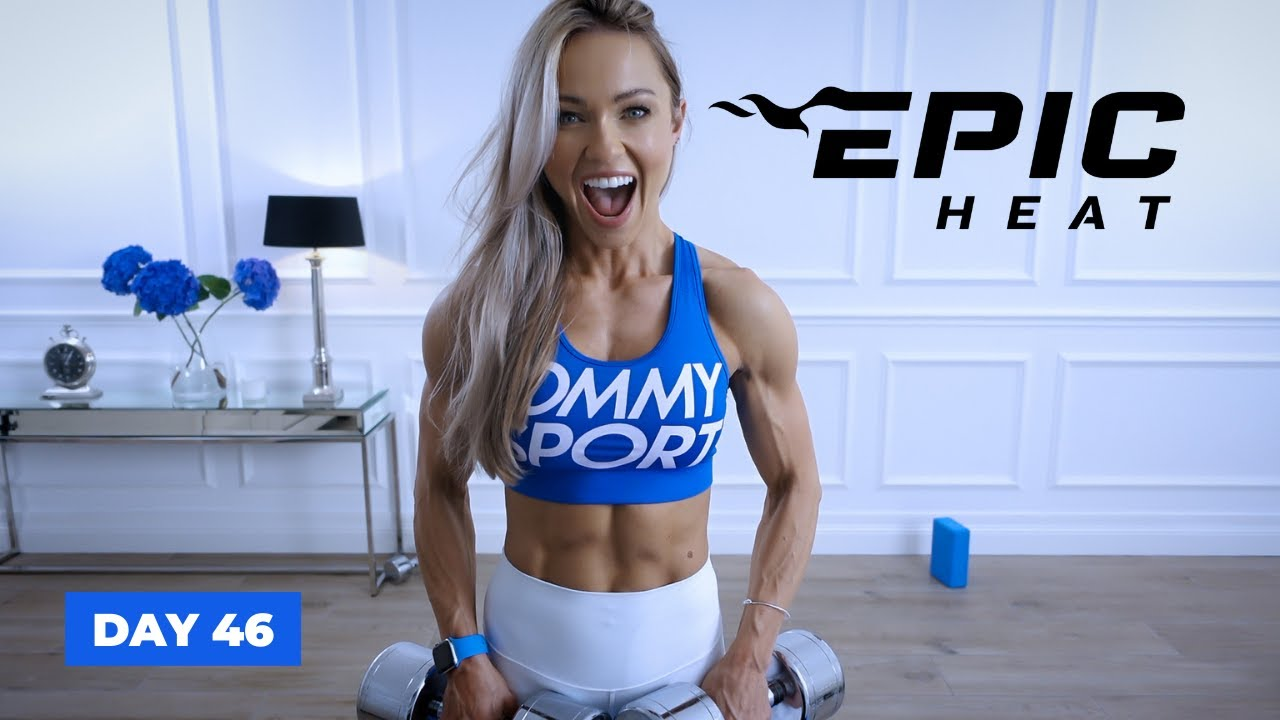 Download UNSTOPPABLE Upper Body Workout - Arms, Shoulders & Back   EPIC Heat - Day 46