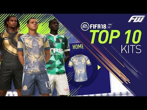 FIFA 18 TOP 10 BEST COOL KITS
