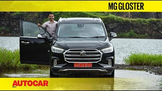 2020 MG Gloster review - XL-sized SUV that offers more of everything | First Drive | Autocar India