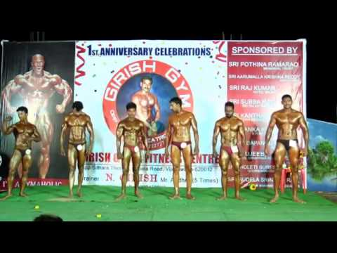 krishna district bodybuilding competition