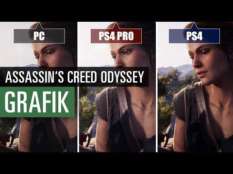 download Assassin's Creed Odyssey (PS4 vs. PS4 Pro vs. PC) Graphics Comparison