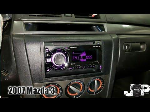 2007 Mazda 3 Radio Removal
