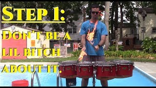 How to Light Drumsticks on Fire and NOT DIE
