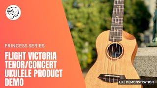 Flight Victoria Concert / Tenor CEQ ukulele