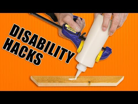 Woodworking Hacks for Individuals with Disabilities like Arthritis