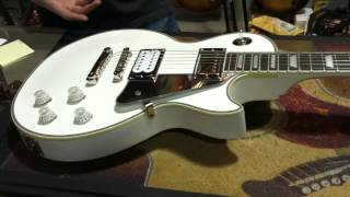 "Epiphone Tommy Thayer ""White Lightning"" Les Paul"