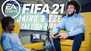 EBERE EZE & JAIRO RIEDEWALD TAKE ON KIDS AT FIFA 21