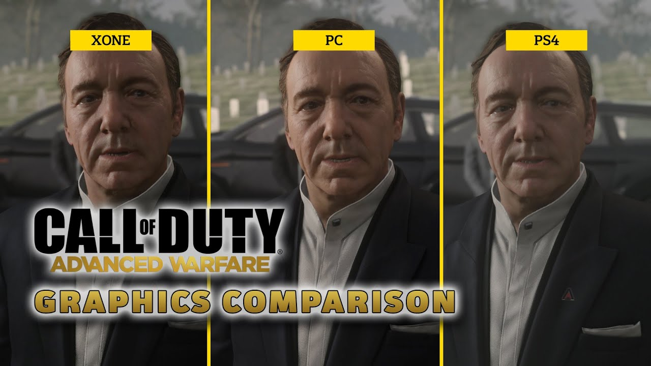Call of Duty: Advanced Warfare - Graphics Comparison - YouTube