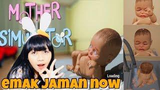 KENAPA SIH INI EMAK EMAK JAMAN NOW 😂 - MOTHER SIMULATOR INDONESIA