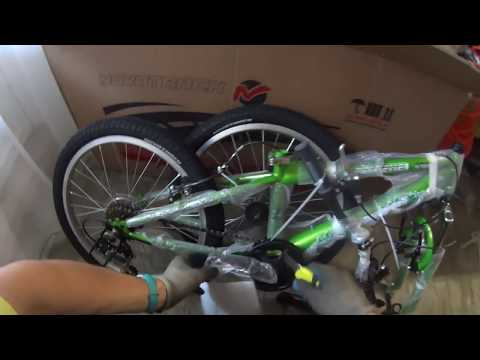 Novatrack сборка детского велосипеда из коробки
