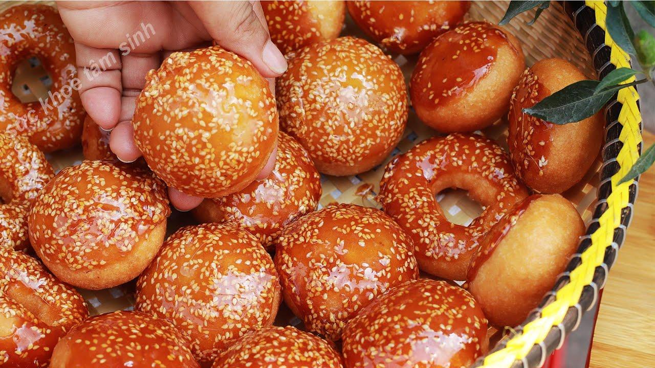 Cách làm Bánh Cam Bánh Rán với công thức truyền nghề làm bánh bán