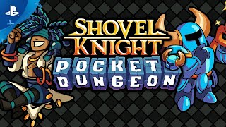 Shovel Knight Pocket - Dungeon Reveal Trailer | PS4