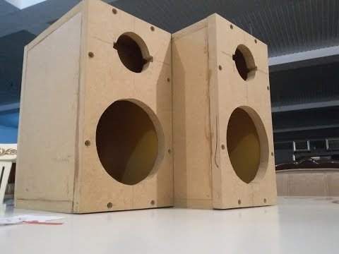 Lautsprecher selber bauen. Lautsprecher selber machen. Bauen anfänger. Bauen anleitung.