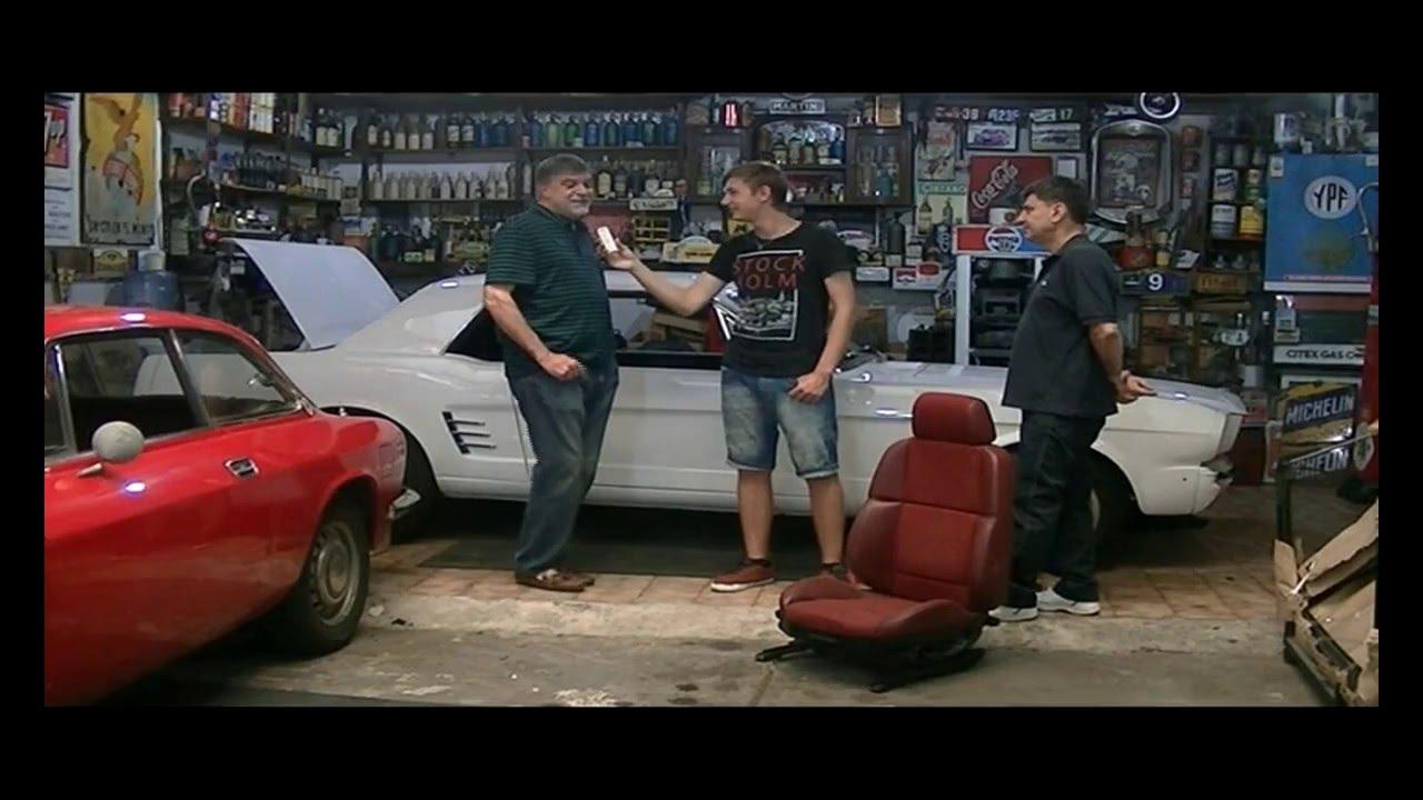 Tapiceria de autos cl sicos restauraci n ford mustang 01 02 2016 youtube - Tapiceros de coches en murcia ...