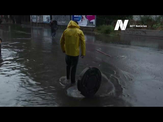 Choques e inundaciones, principales estragos en #Puebla a causa de la lluvia del miércoles