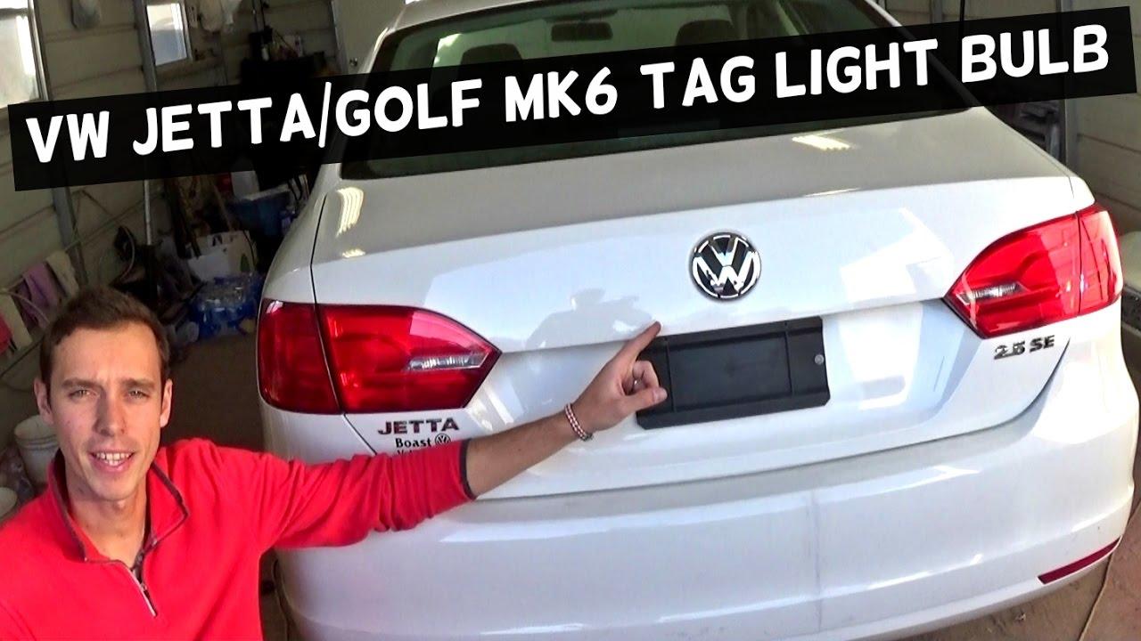 2013 vw golf brake light bulb