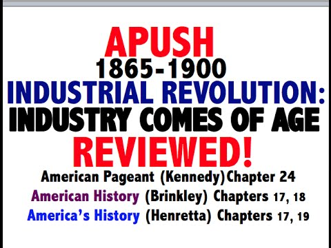 American Pageant Chapter 24 APUSH Review