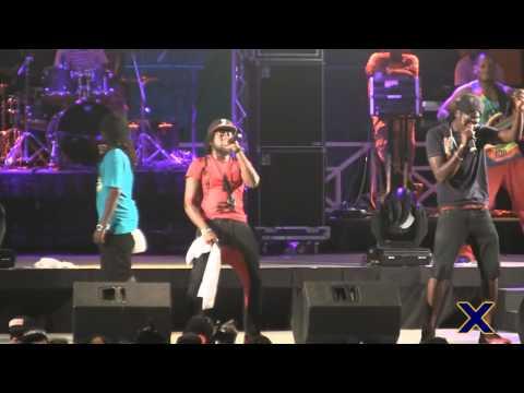 Lead Pipe & Saddis (MWE) - Carnival Addiction, Oh Mama & Ah Feeling (Soca On De Hill 2014) Live! HD