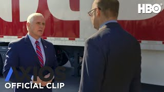 Axios on HBO: U.S. Vice-President Mike Pence Extended (Clip) | HBO