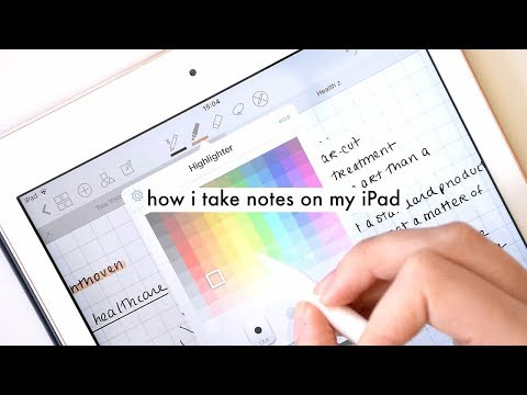 TAKING NOTES FOR UNIVERSITY WITH MY NEW 2018 IPAD - YouTube