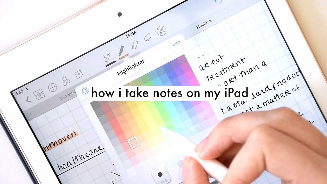 TAKING NOTES FOR UNIVERSITY WITH MY NEW 2018 IPAD