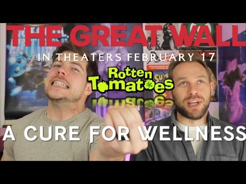 Rotten Tomatoes Scores: The Great Wall, Cure For Wellness, Fist Fight