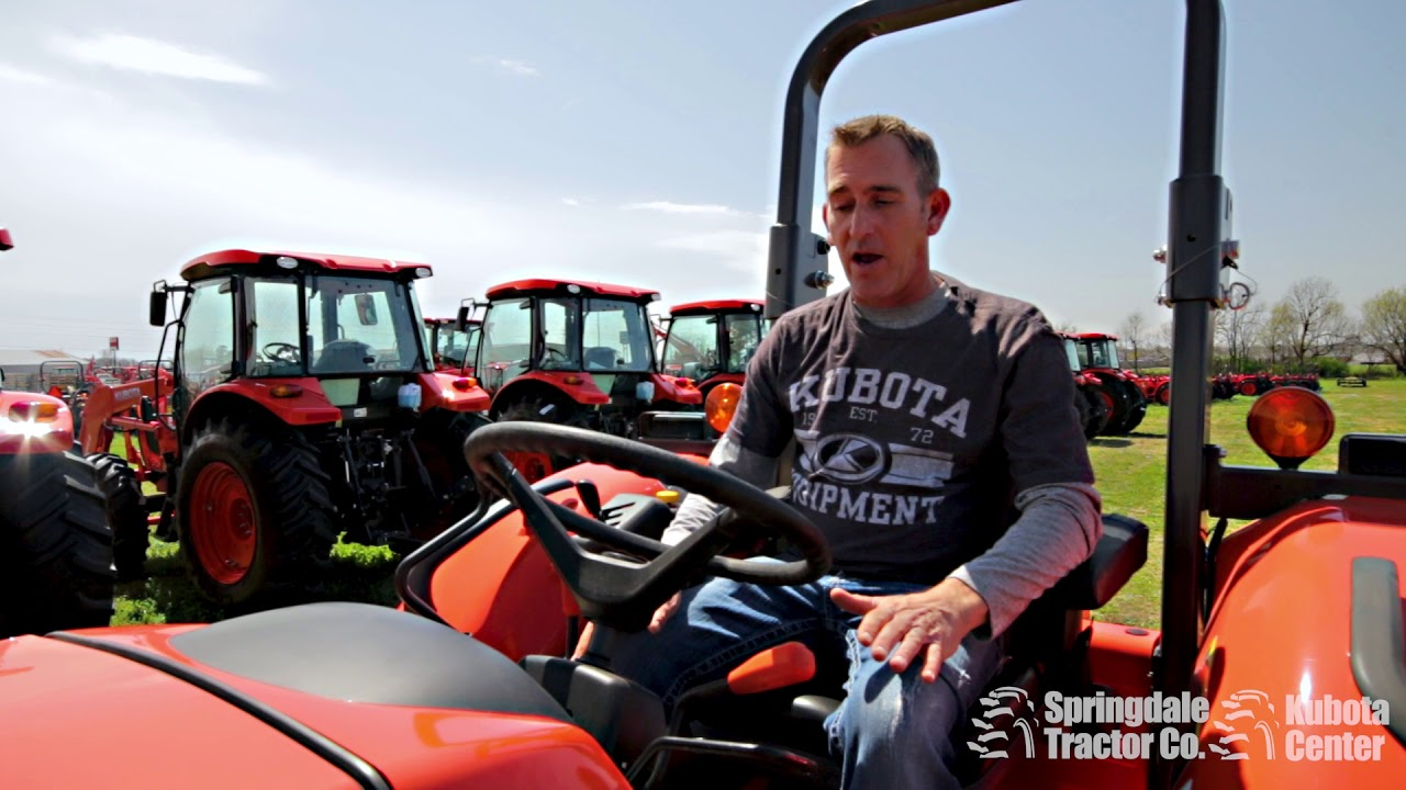 Kubota Tractor Diesel Particulate Filter Regeneration