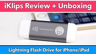 iKlips Lightning Flash Drive Review for iPhone & iPad - Is This The Best Flash Drive for iOS?