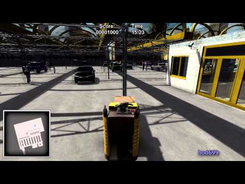 Warehouse & Logistics Simulator (Forklifter) First Impressio