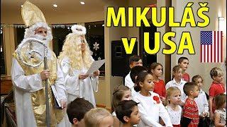 Mikuláš v ČESKÉ ŠKOLE v LOS ANGELES