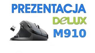 Unboxing Myszy Wertykalnej Delux M910 - HardPC TV #117