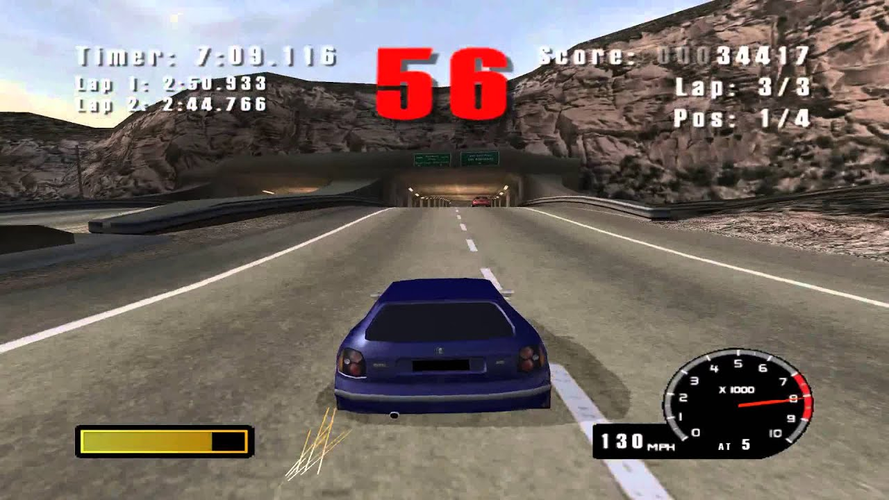 Dolphin Emulator 4 0 | Burnout [1080p HD] | Nintendo GameCube
